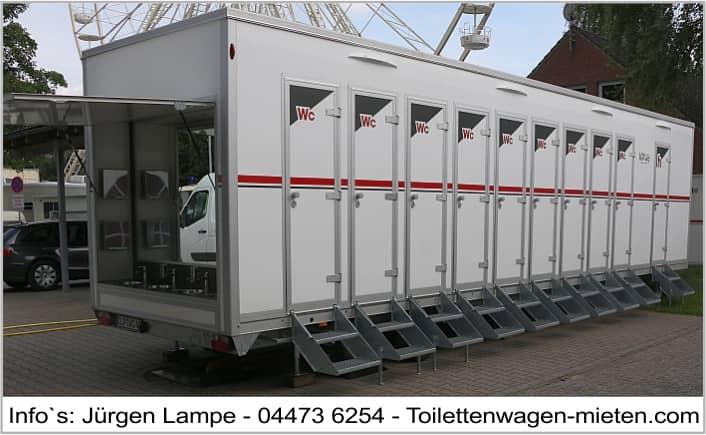 Toilettenwagen Hamburg