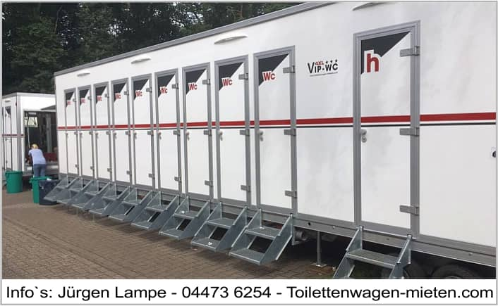 4xl Toilettenwagen Oldenburg
