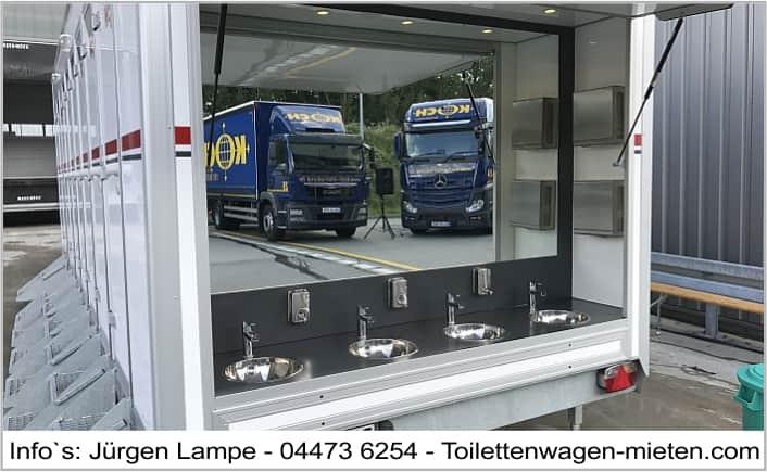 Toilettenwagen Osnabrück - Spedition Koch