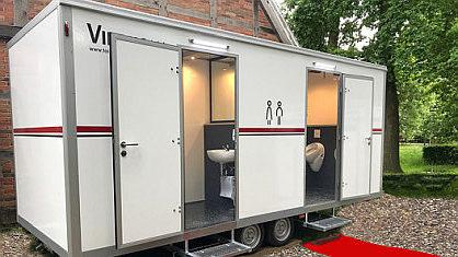Toilettenwagen Lampe für 350 Personen