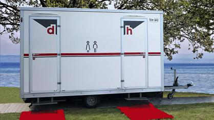 Toilettenwagen Hochzeit Cloppenburg